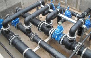 монтаж водонапорных труб