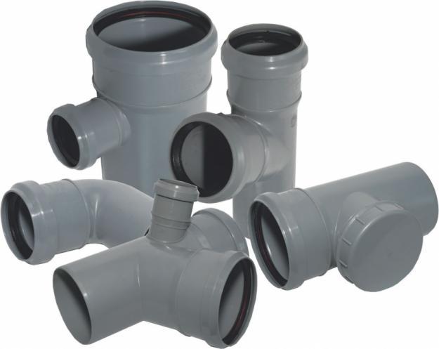 Полипропиленовые трубы и фитинги для внутренней канализации